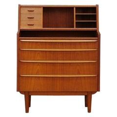 Retro Secretaire Vintage 1960-1970 Classic
