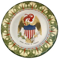 United States of America National Emblem Plate