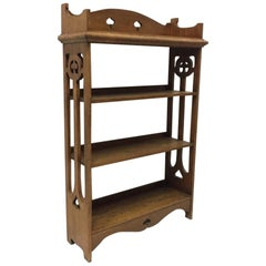 Arts & Crafts Bücherregal aus Eiche, Liberty & Co zugeschrieben