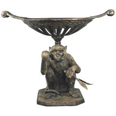 20th Century Bronze Monkey