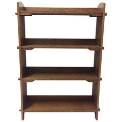 Bücherschrank aus Eiche, Arts & Crafts, Wylie & Lochhead zugeschrieben