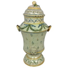 18th Century French Louis XVI Style Provencal Fountain Ceramic Centrepiece