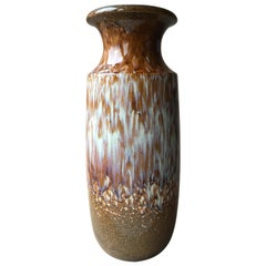 Midcentury Large Fat Lava Vase from Scheurich, 1960s, Germany