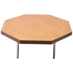 Octagonal Coffee Table by Pierre Paulin for Artifort