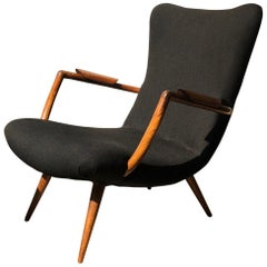 Giuseppe Scapinelli Armchair Made of Solid Caviuna Wood