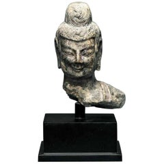 Stone Buddha Statue Fragment from Northern Wei Dynasty China