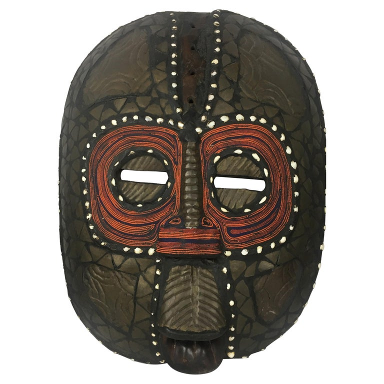 Very Large Mid-20th Century African Tribal Mask For Sale