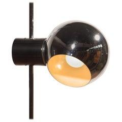1960s, Chrome Floor Lamp by Reggiani Lampadari, Italy