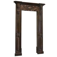 Louis XVI Carved Door Surround