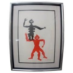 Acrobats by Calder