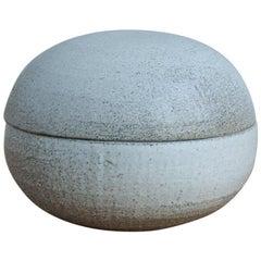 One Off Little Bowl with Lid Shamot Glaze
