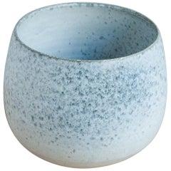 One Off Small Vase Stone Blue Glaze #1