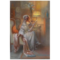 Love Letter, After Academic Pastel by Delphin Enjolras