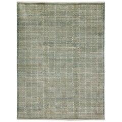 "Orley Shabahang Signature ""Cloud Cover"" Handmade, Contemporary Carpet"