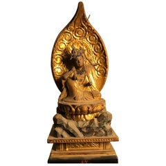 Japanese Tall Protection Kanon Guan Yin- Five Arms to Protect Mankind