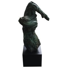 Figural Bronze Sculpture by Gary Weisman