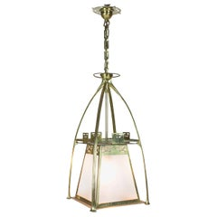 Brass Arts & Crafts Lantern