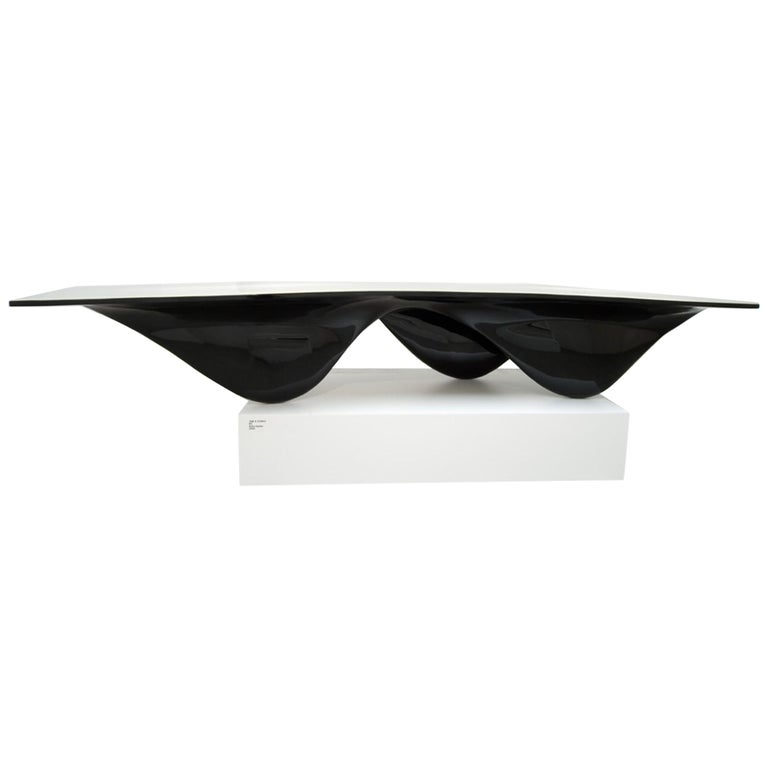 Aqua Table Limited Edition Black with White Top