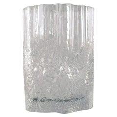 Iittala, Tapio Wirkkala Art Glass Vase, Beautiful Finnish Design