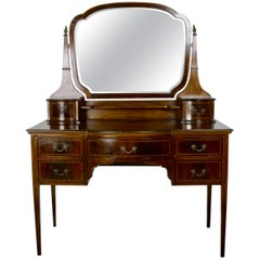 English Edwardian Mahogany Vanity