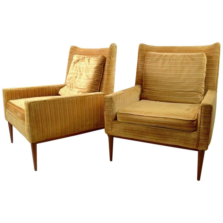 Pair of McCobb Lounge Chairs  For Sale