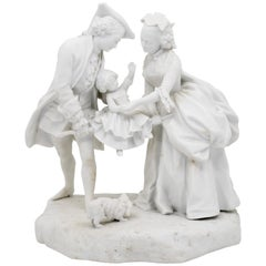 French Parian Biscruit Figural, Mid-19th Century