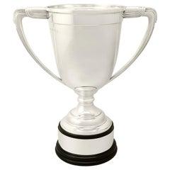 Art Deco Sterling Silver Presentation/Champagne Cup - Antique George v