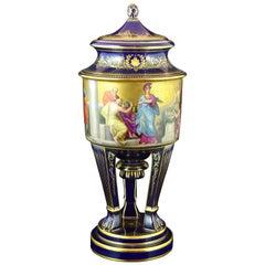 Porcelain Vase, Austria, 20th Century