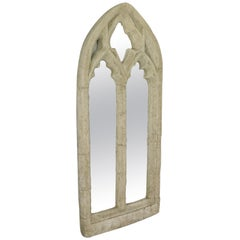 Vintage Wall Mirror, Pugin-Esque, Gothic Revival, Ecclesiastical, 20th Century