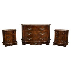 Walnut Dresser from the 2nd Half of the 20th Century, After Renovation