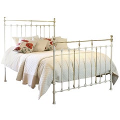 King Size Bed in Cream - MK160
