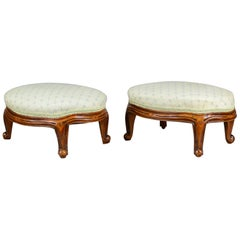 Pair of Antique Foot Stools, English, Victorian, Carriage Rests, circa 1890