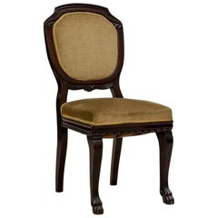 Single Mahogany Chair from the 1st Half of the 20th Century