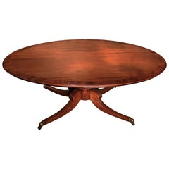 William iv Mahogany Oval Dining Table