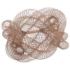 Elegant Copper Wire Bracelet, circa 1990, U.S.A