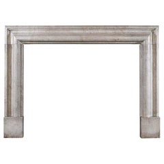 Fossil Stone Bolection Fireplace Mantel