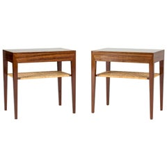 Pair of Midcentury Mahogany Side Tables by Severin Hansen