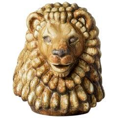 Midcentury Lion Figurine by Gunnar Nylund