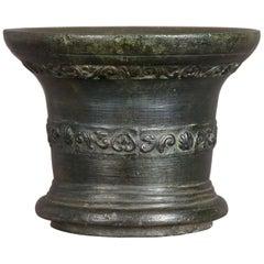 17th Century Whitechapel Bronze Mortar, London, 1630-1650