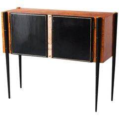 Small Art Deco Console Cabinet from 1940