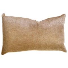 Forsyth Palomino Brazilian Cowhide Pillow