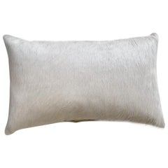 Forsyth Ivory Brazilian Cowhide Pillow