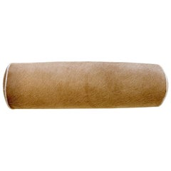 Forsyth Palomino Brazilian Cowhide Bolster Pillow