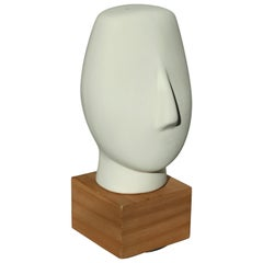 Midcentury Cycladic Head Sculpture, 1960s