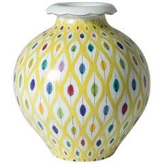 Midcentury Faience Vase by Stig Lindberg