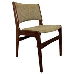 Mid-Century Danish Modern Henning Kjaernulf Teak Dining Chair