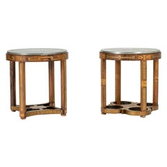 Pair of Swedish Grace Side Tables from Ystad Tenn
