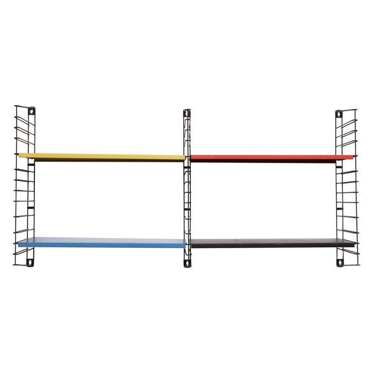 Tomado Tall Two-Section Multicolored Shelving