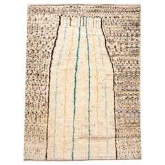 Modern Moroccan-Style Rug