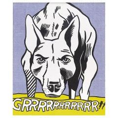 Grrr! 1962 by Roy Lichtenstein
